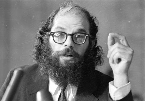 Image result for Allen Ginsberg