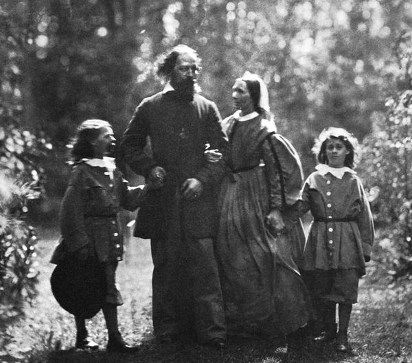 Alfred Lord Tennyson's family
