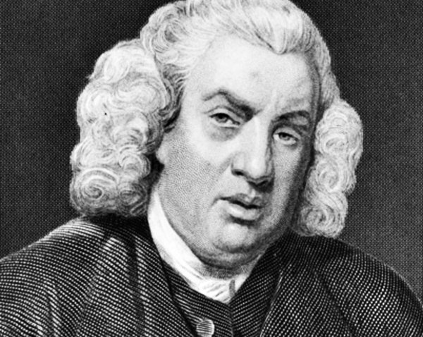 a biographical essay on samuel johnson Otherwise, dr johnson spent his time engaged in conversation  for if a  ghost were a spirit that has taken a corporal form for a brief interval,.