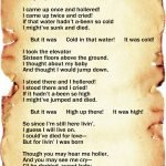 """""""Life Is Fine"""" by Langston Hughes"""