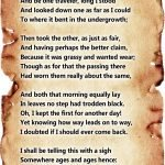 """""""The Road Not Taken"""" by Robert Frost"""